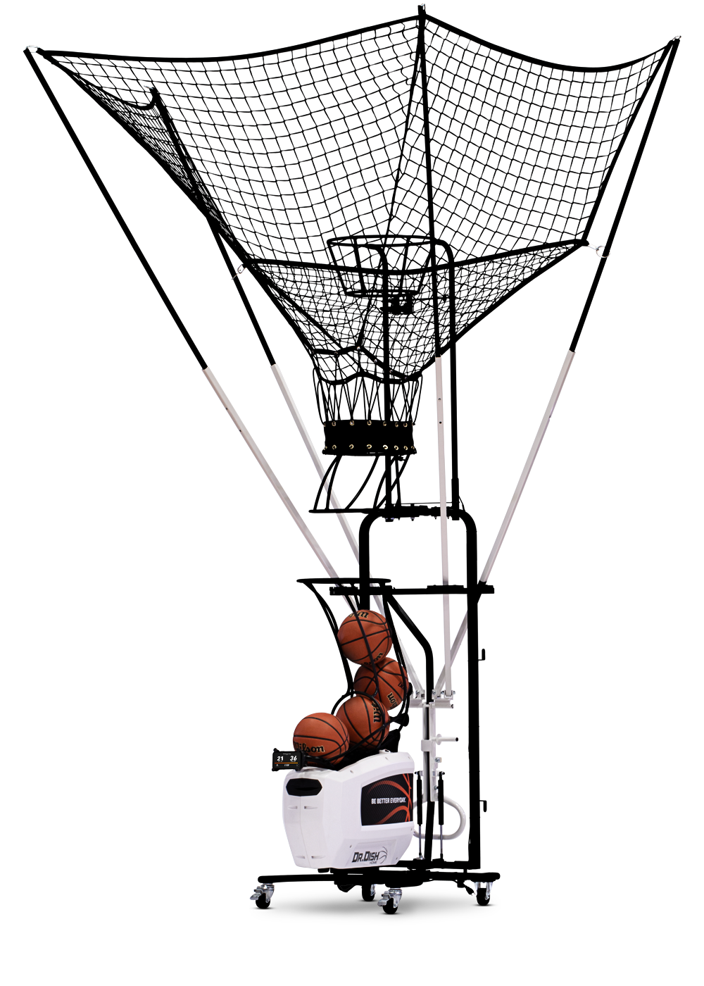Dr. Dish Home Basketball Shooting Machine
