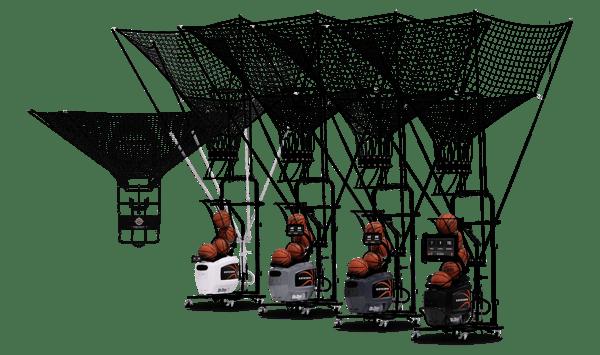 Full Dr. Dish Shooting Machine Lineup