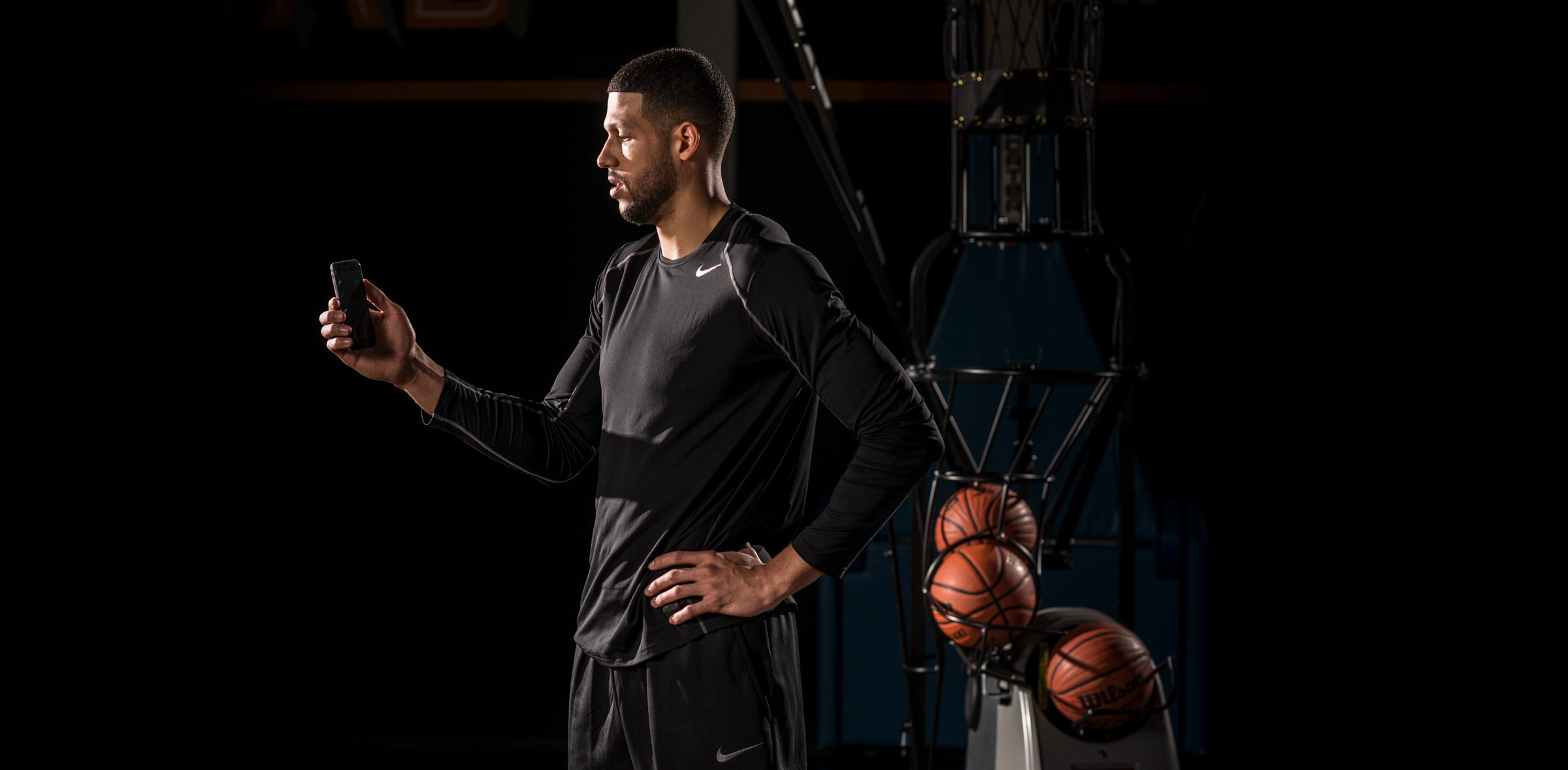 Dr. Dish Basketball Shooting Machine - Phone App