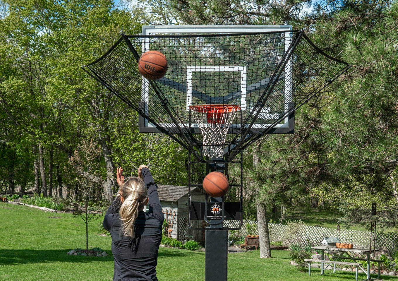 High Rep Basketball Shot Trainer | Dr. Dish Basketball