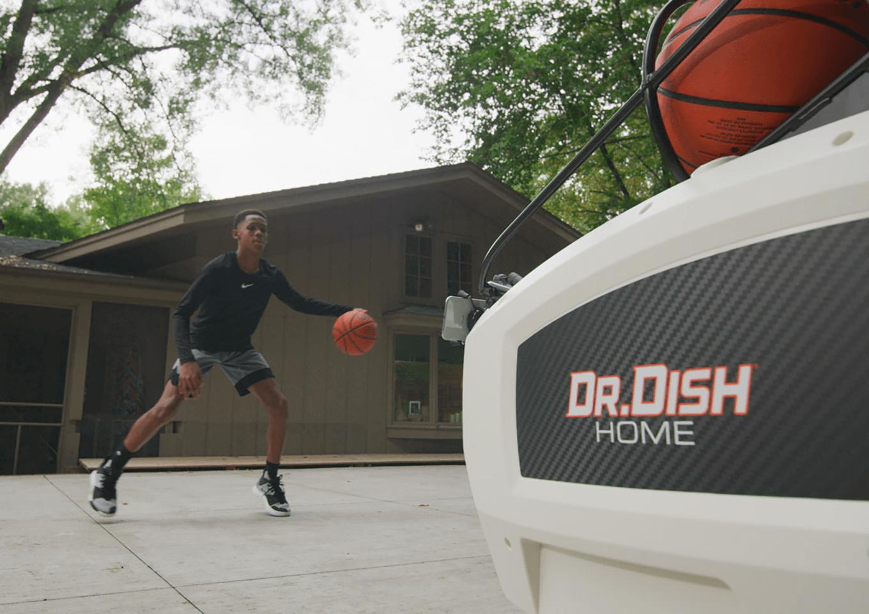 Dr. Dish Home Basketball Shooting Machine
