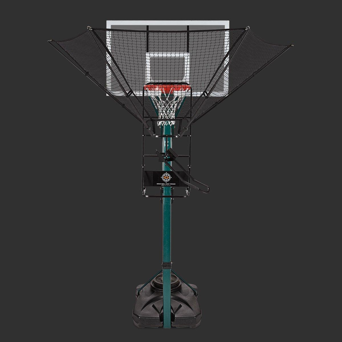 ic3 Basketball Training Aid on Portable Basketball Hoop