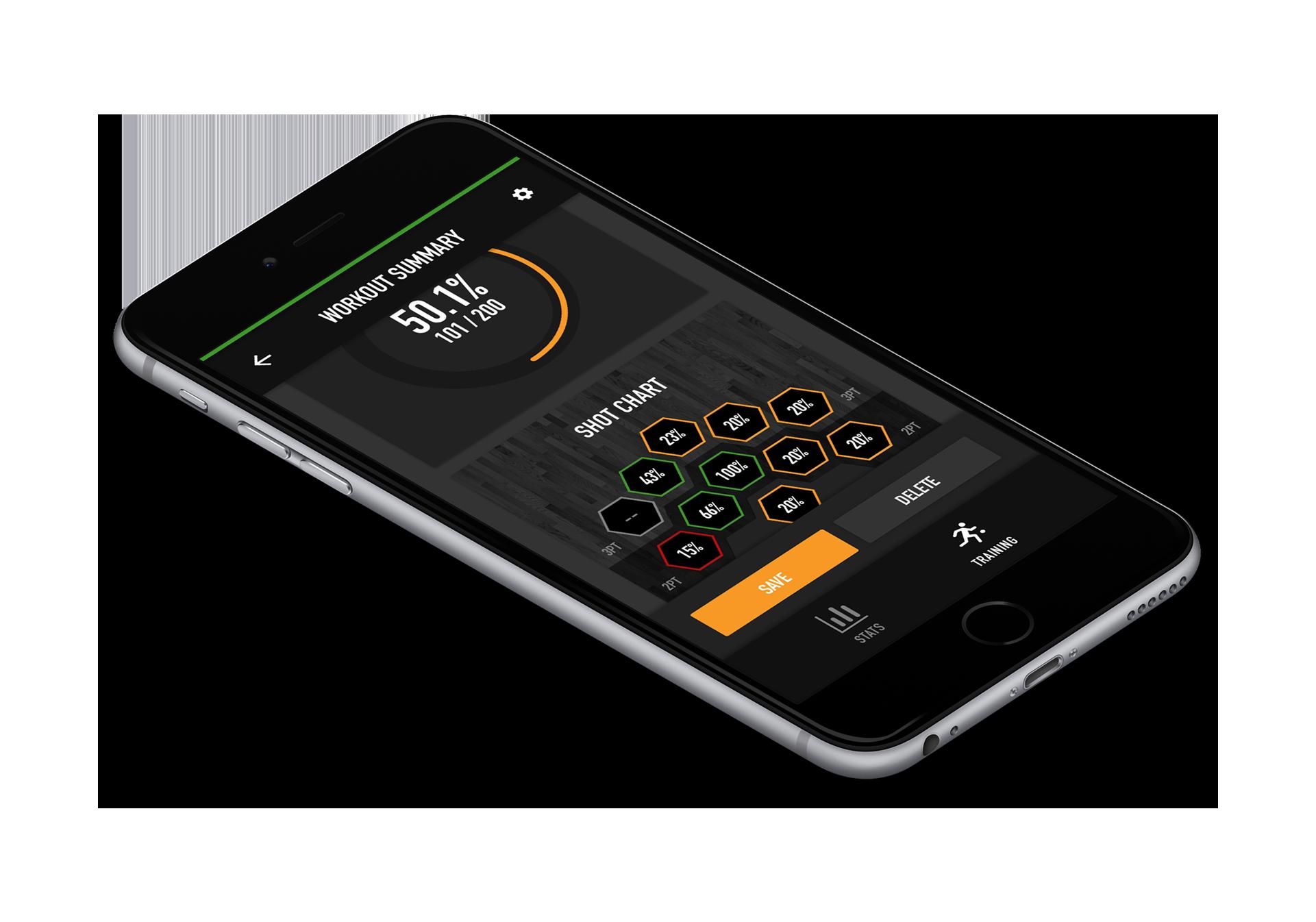 Dr. Dish All-Star Basketball Training Machine- App Control