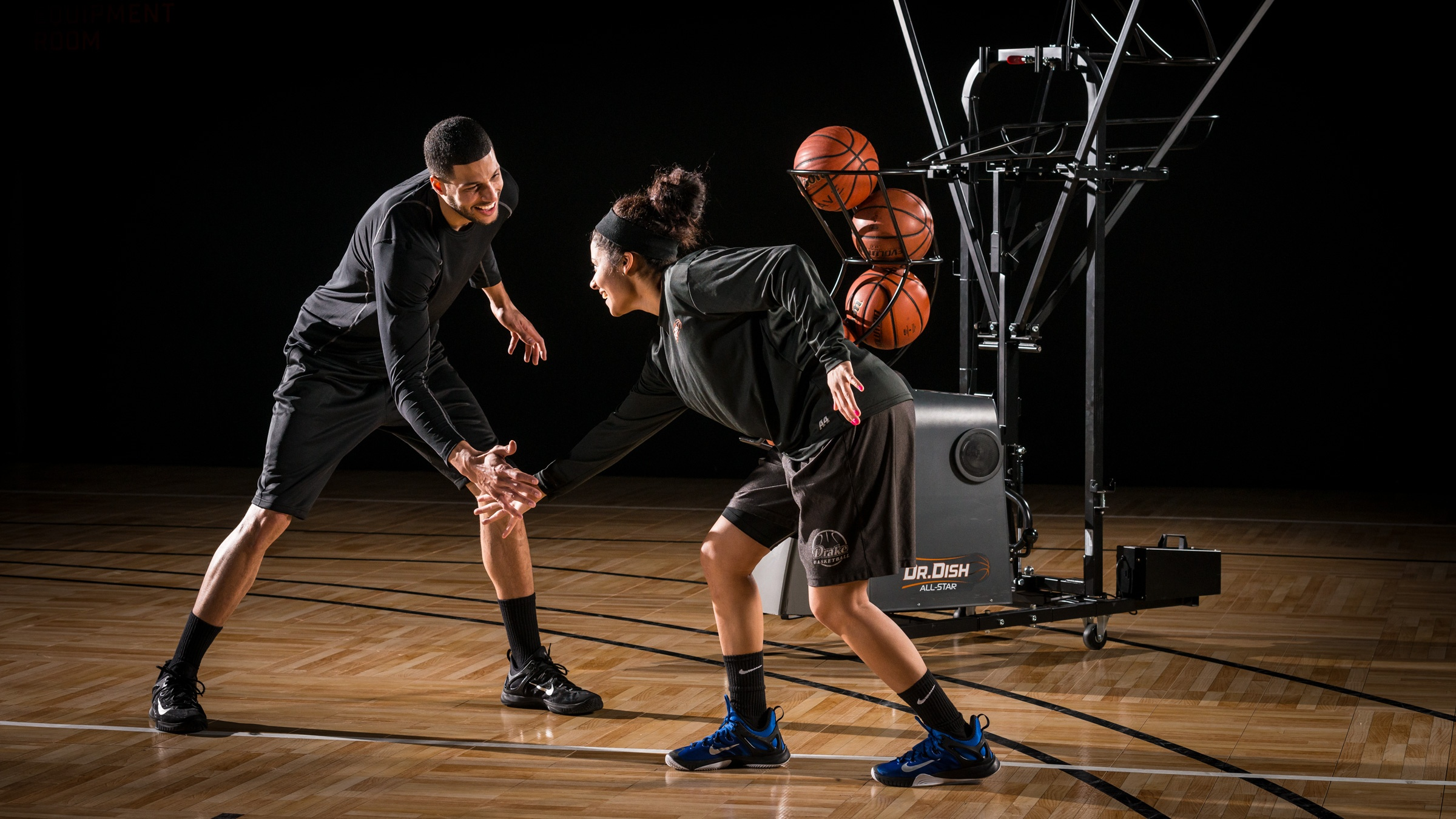 Basketball Shooting Machine - Dr. Dish Excitement