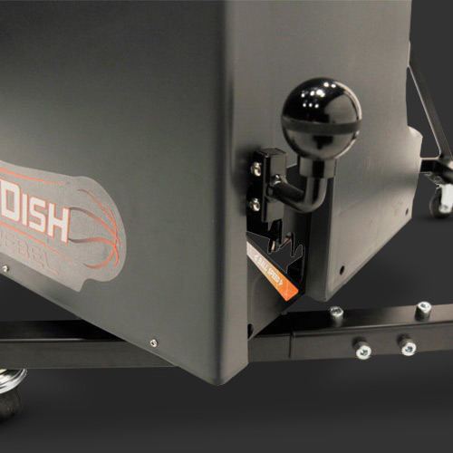 Dr. Dish Rebel Basketball Passing Machine- Distance Adjuster