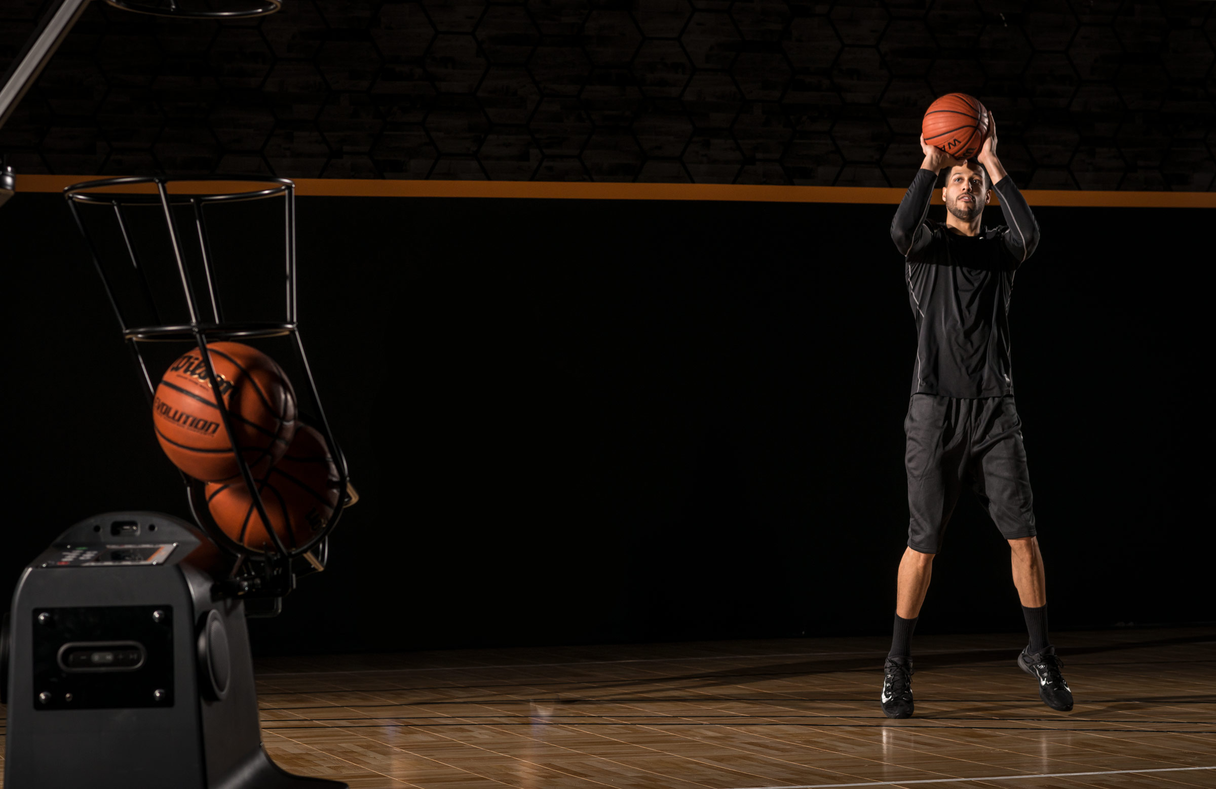 Basketball Shooting Machine - Jefferson Shooting