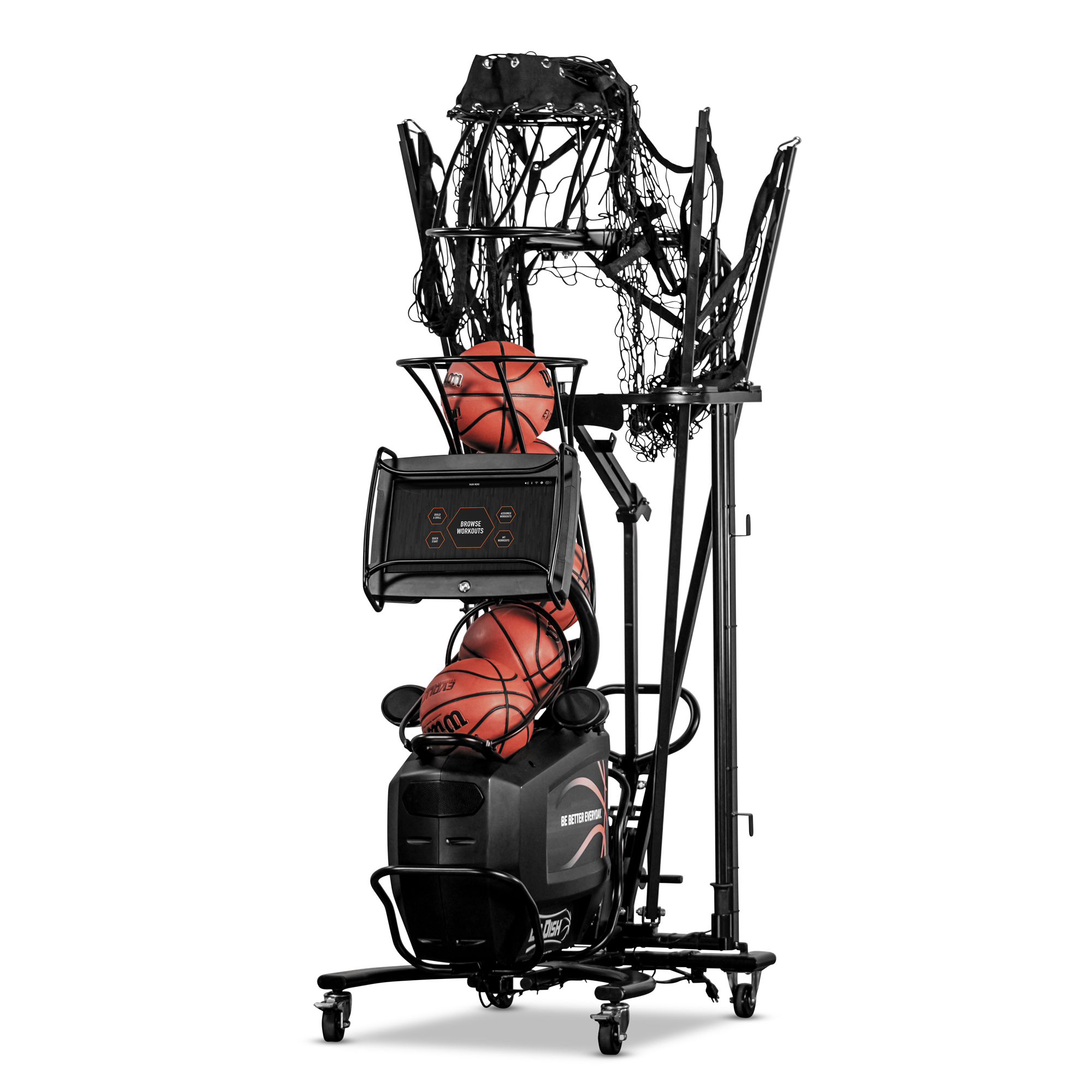 Dr. Dish CT Basketball Rebounding Machine- Storage