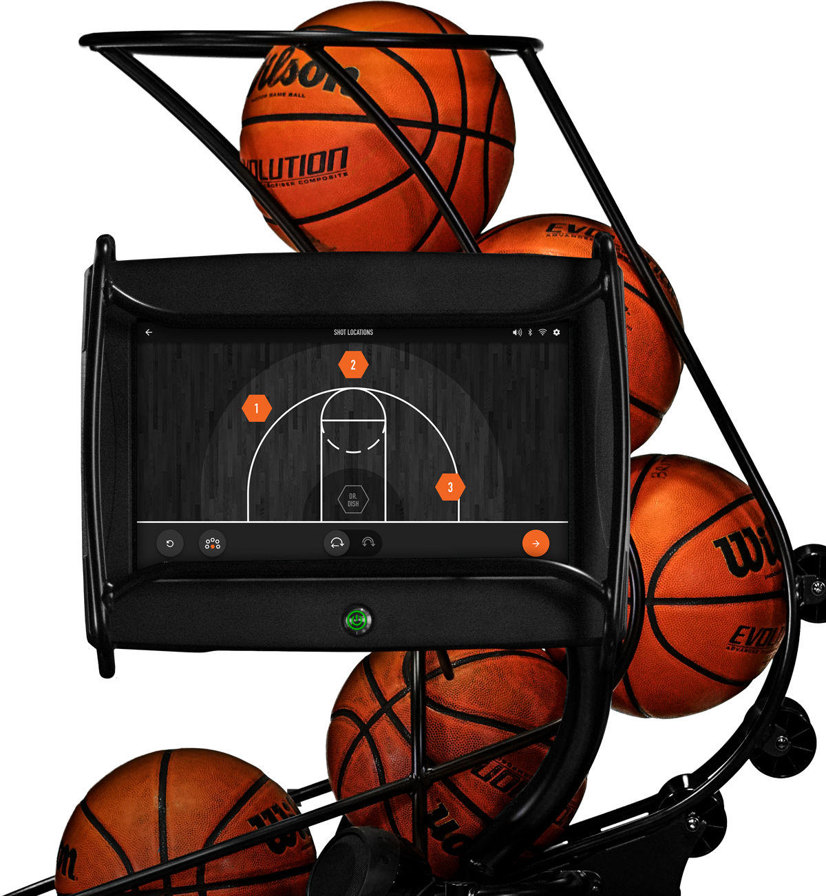 Dr. Dish CT- Basketball Shooting Machine For Schools