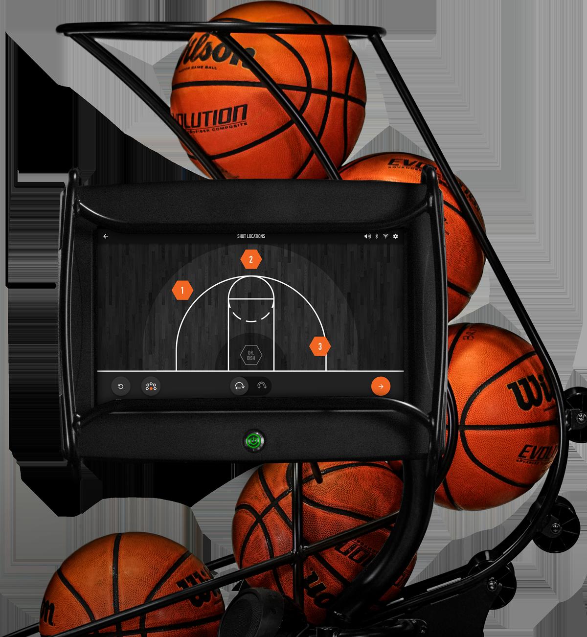 Dr. Dish CT Basketball Training Machine- Custom Training