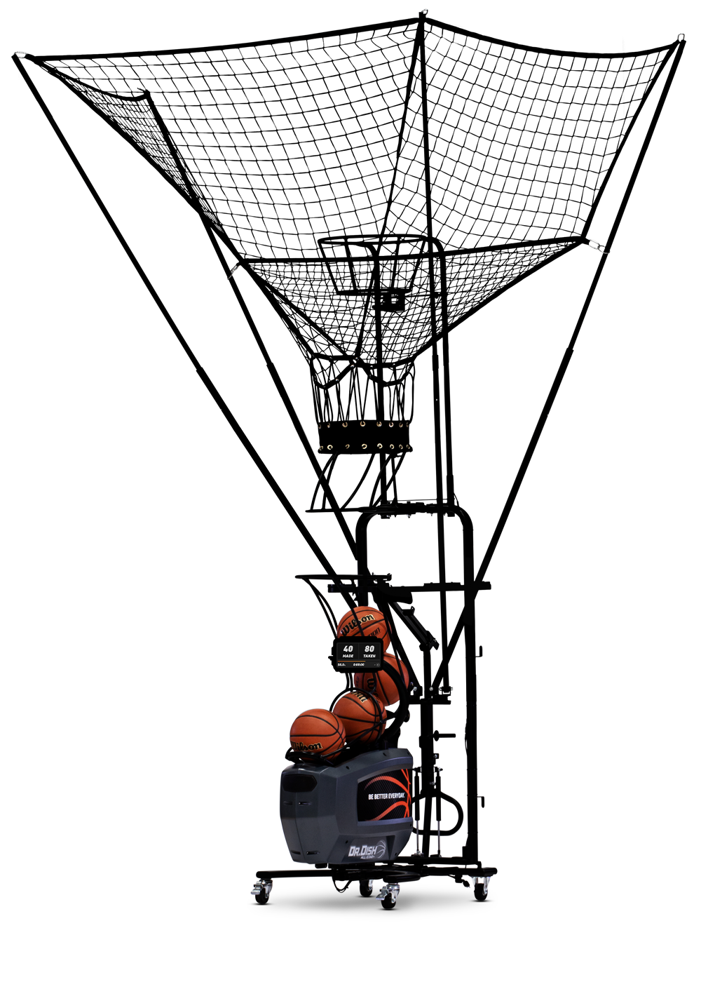 Dr. Dish All-Star+ Basketball Shooting Machine