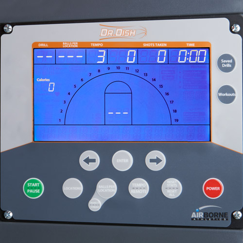 Dr. Dish Rebel Basketball Rebounding Machine Console