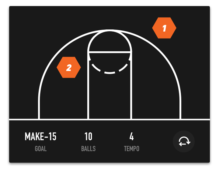 Dr. Dish Home Basketball Training Machine- Shooting