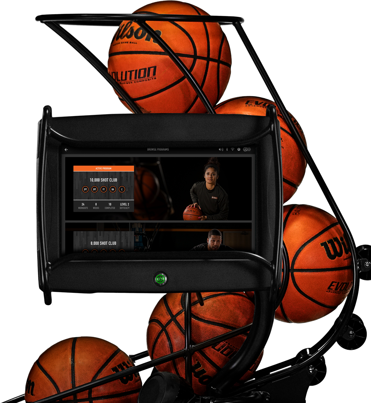 Dr. Dish CT Basketball Passing Machine- For Schools