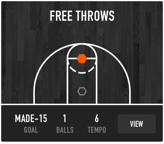 Dr. Dish Basketball Training Management System- Free Throws